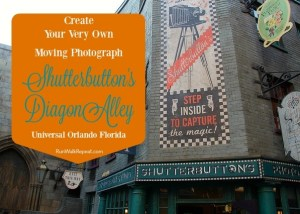 Shutterbuttons Create Your Very Own Moving Photograph in Universal's Diagon Alley
