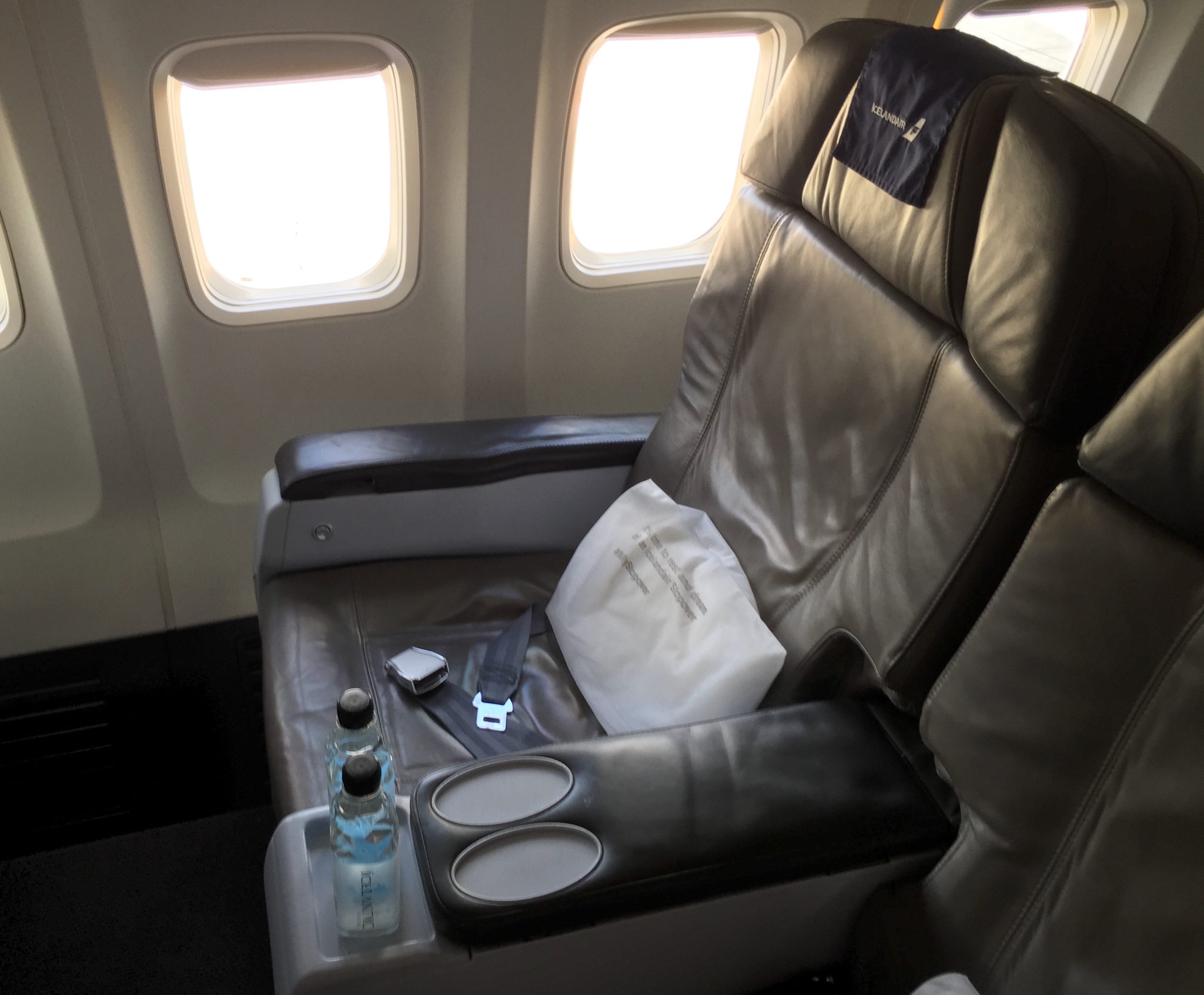 Icelandair™s new 767s and Q400s raise un-Comfort-able