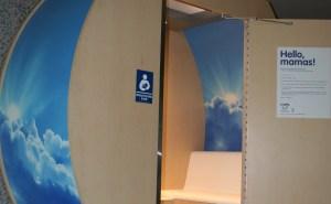 Mamava nursing pod at Austin Bergstrom International Airport