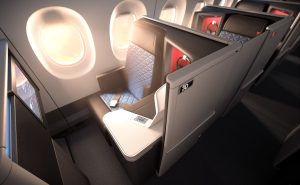 The Thompson Vantage XL-based product is a big improvement on Delta's existing seats. Image: Delta
