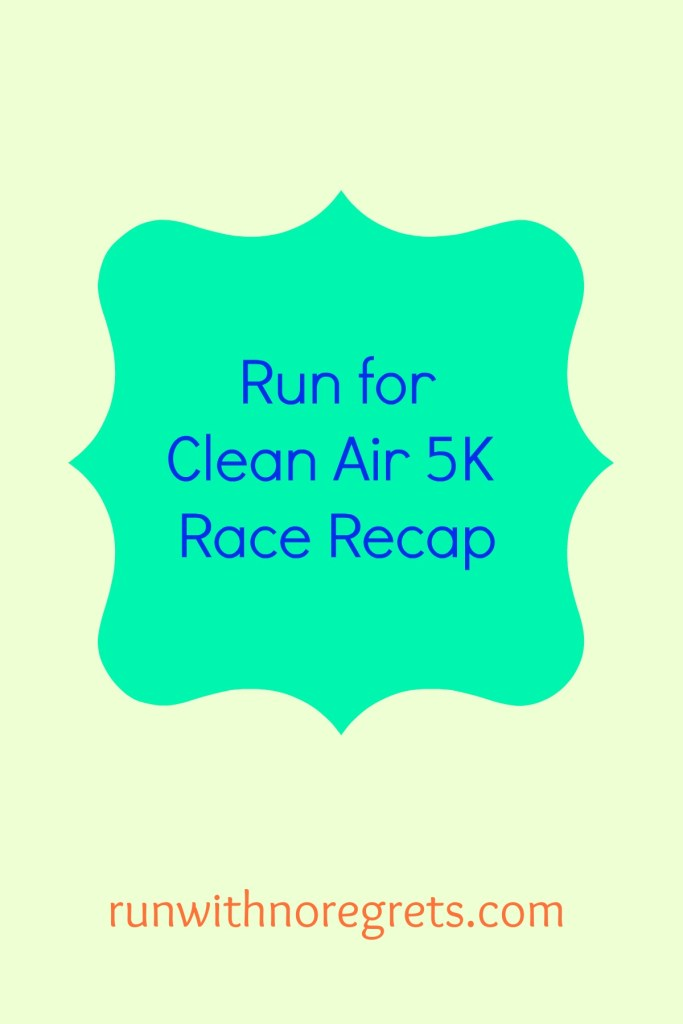 Check out my recap from running the Clean Air Council Run for Clean Air 5K in Philadelphia!