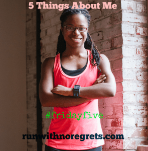 5 things about me