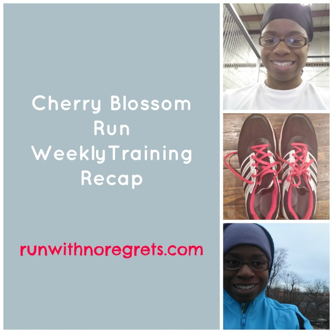 I am training for the Cherry Blossom 10 Mile Run in Washington, DC! Check out my weekly training recap!