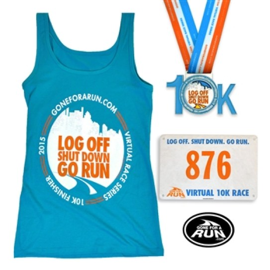 Great swag for the Gone for a Run 10K!