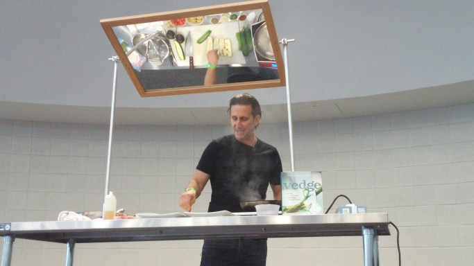 vegan cooking demo