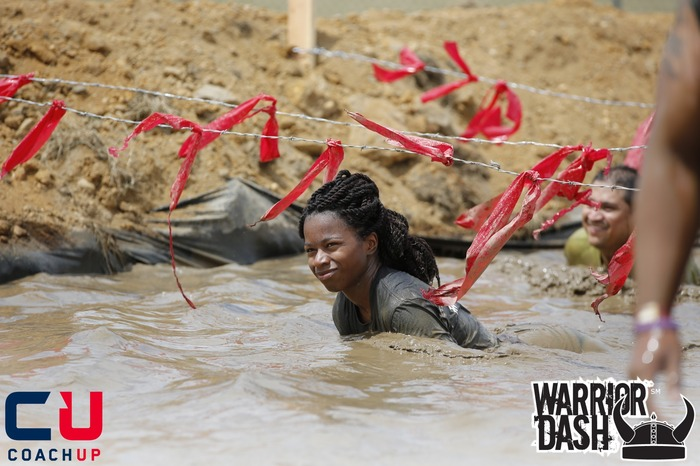 The only mud pit in the Warrior Dash!