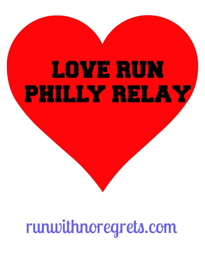 Have you heard of the Love Run Half Marathon in Philly? For the first time they are adding a 3 person relay team! Sign up today at cgiracing.com/theloverun!