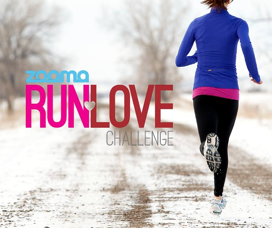 The Zooma Run Love 5K/10K Challenge takes place on February 14, 2016! Find out how you can sign up and get support, training, and awesome swag from the Zooma women's community!