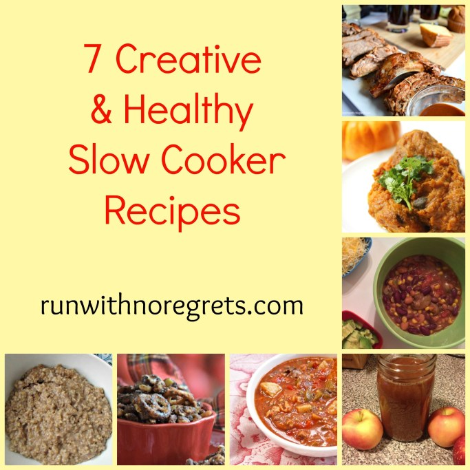 Are you looking for more creative recipes to make for you and your loved ones? I've rounded up 7 creative and healthy slow cooker recipes that are worth a try! I never would have thought to come up with some of these ideas!