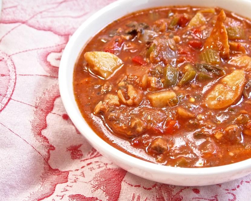 Italian white fish stew