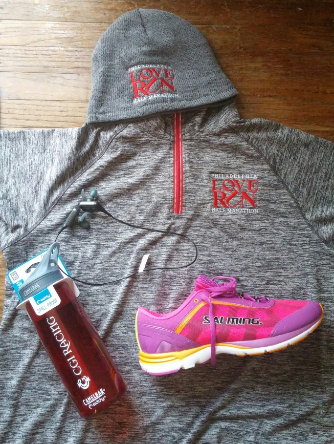 Amazing swag earned for being a Love Run Ambassador!