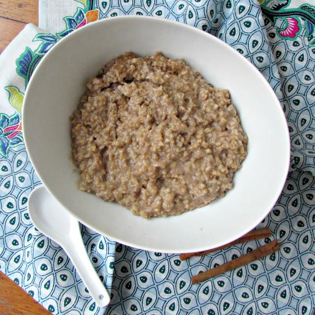 slow cooker chai oats