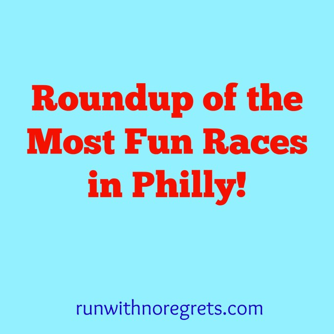 Are you looking for a fun race in Philadelphia?  There are so many great ones to try, and not just the Broad Street Run!  Check it out and more running tips on runwithnoregrets.com!