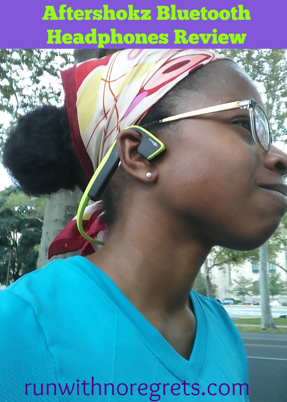 Looking for some headphones that are high quality and stay in place while on the run? Check out my review of the Aftershokz Trekz Titanium headphones! Find more product reviews on running gear at runwithnoregrets.com!