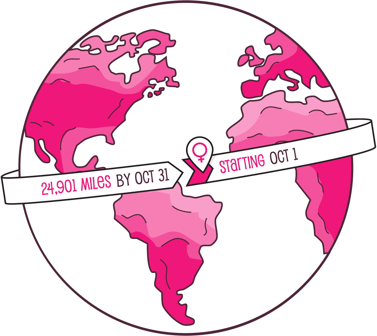 This October, thousands of women will join in a one of a kind adventure to collectively and virtually run around the world to benefit charities that empower girls globally.
