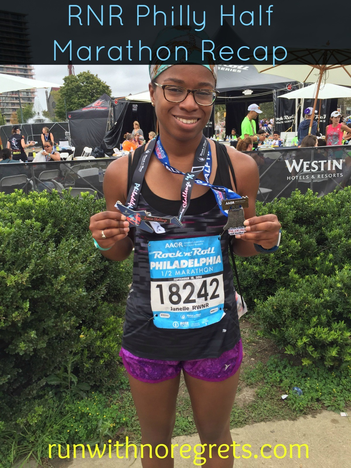 In September 2016 I ran my 9th half marathon - the Rock 'N Roll Philadelphia Half! Check out my recap and more running at runwithnoregrets.com!