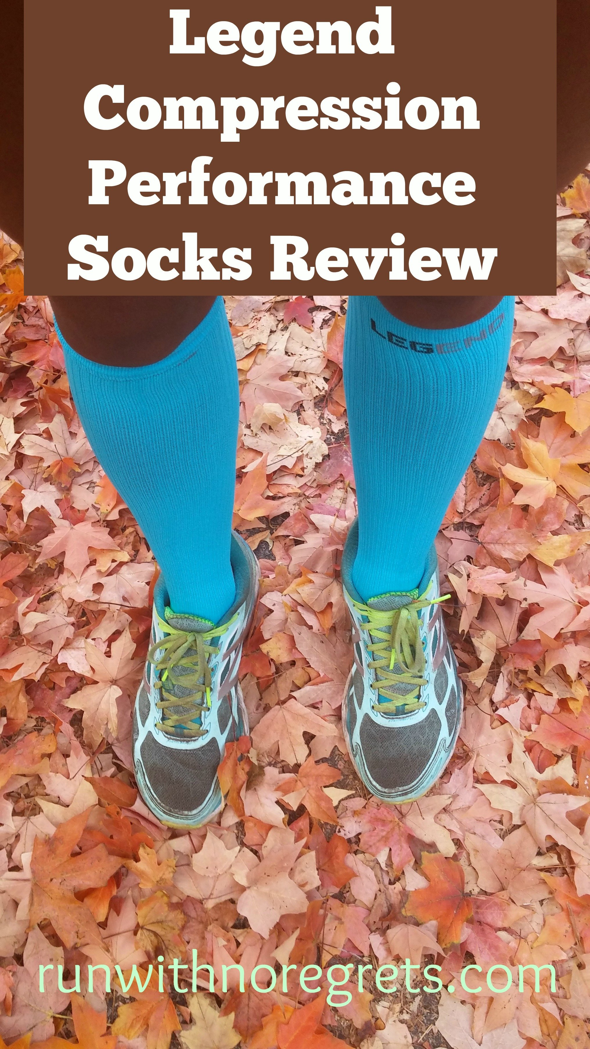 Have you tried Legend Compression socks? I've loved using them either on a run or for recovery! Check out my review and get a discount for 15% off with Bibsave15. More running product reviews at runwithnoregrets.com!