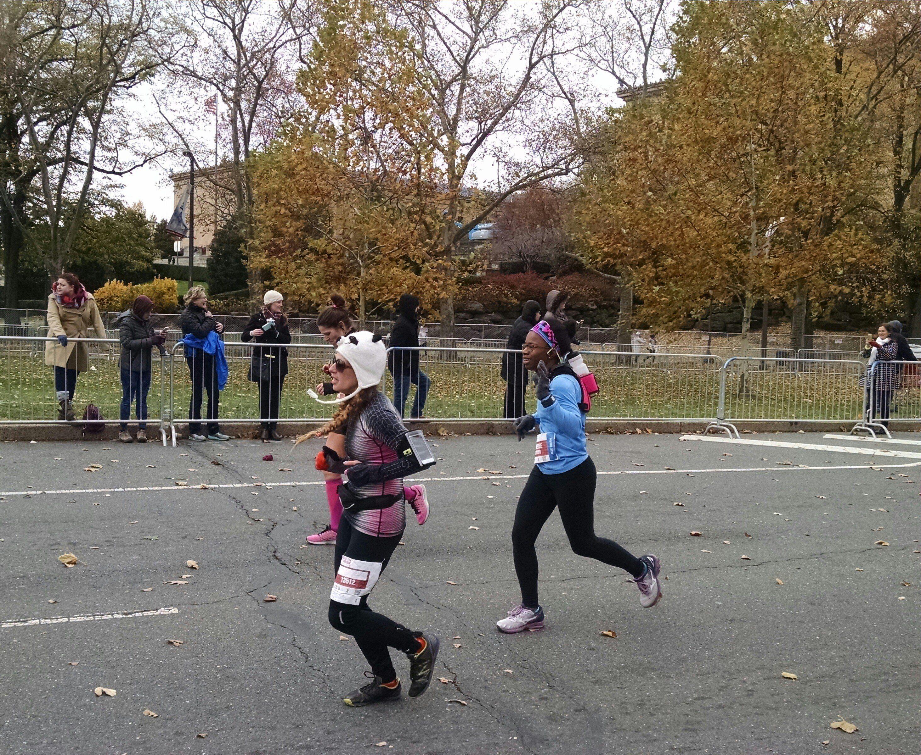 near-marathon-finish
