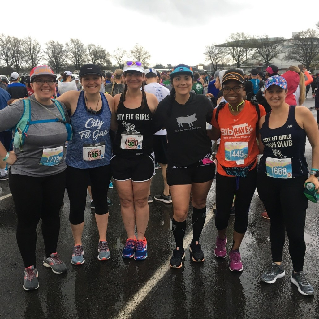 city fit girls new jersey marathon