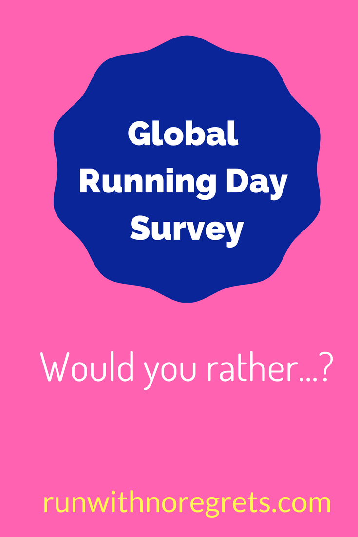 global running day survey 2018