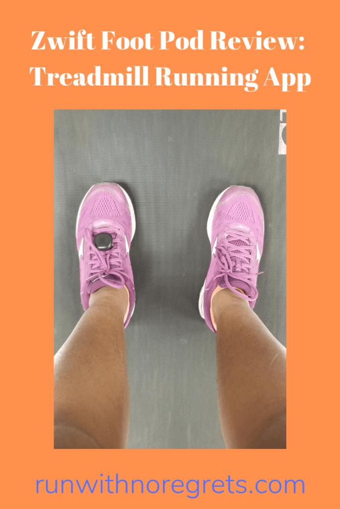 I'm sharing my review of the Zwift Foot Pod - a device used to run with the Zwift App!  Let's make the treadmill great again!  Find more running product reviews at runwithnoregrets.com!