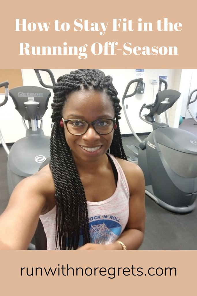 Once race training stops, it's so hard to keep up your fitness! Learn some great tips on how to stay fit in the running off-season, and find more running tips at runwithnoregrets.com!