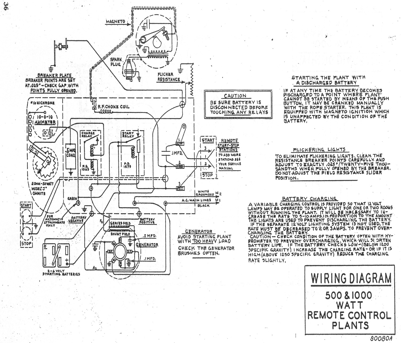 Onan 6 5 Rv Generator Control Wiring Diagram Fairbanks Morse 1 Kw Light Plant Manual