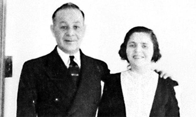 Изадор и Роза Блюмкины на семейном фото 1939-го. Фото: omaha.com