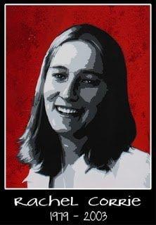 اليوم هو ذكري و فاة الناشطة ريتشل كوري 1