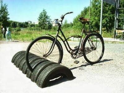أفكار إعادة تدوير إطارات السيارات المستعملة 2