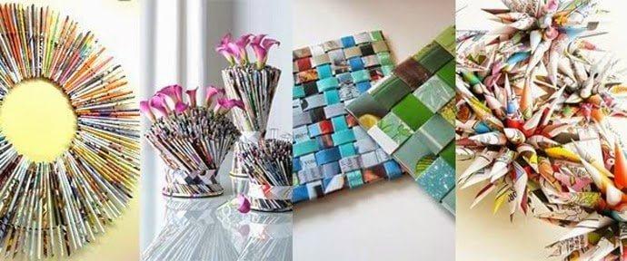 أفكار لإعادة التدوير 3 : بالصور أفكار رائعة لإعادة تدوير الورق في المنزل 18