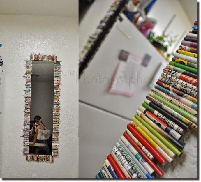 أفكار لإعادة التدوير 3 : بالصور أفكار رائعة لإعادة تدوير الورق في المنزل 16