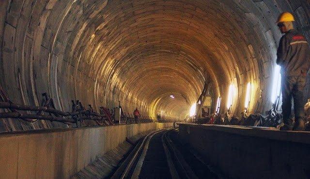 تركيا تفتتح نفق مرمره أعمق نفق سكك حديدية تحت سطح البحر في العالم !