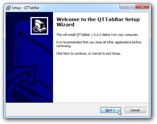 تعلم كيف تحول جهازك لمتصفح بطريقة سهلة مع QTTabbar 2