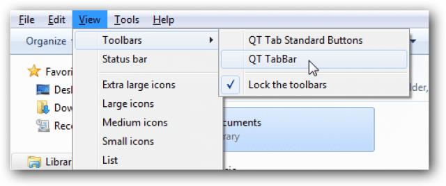 تعلم كيف تحول جهازك لمتصفح بطريقة سهلة مع QTTabbar 5