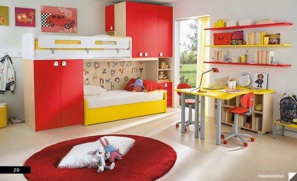 صور وأفكار لغرف نوم أطفال 4