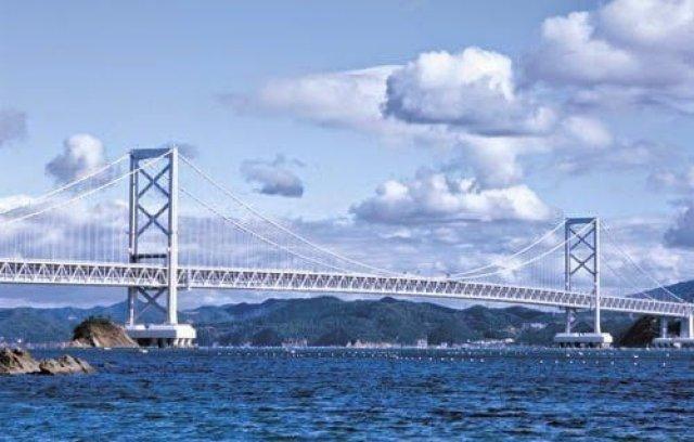 جسر أكاشي كايكو : أطول جسر معلق في العالم