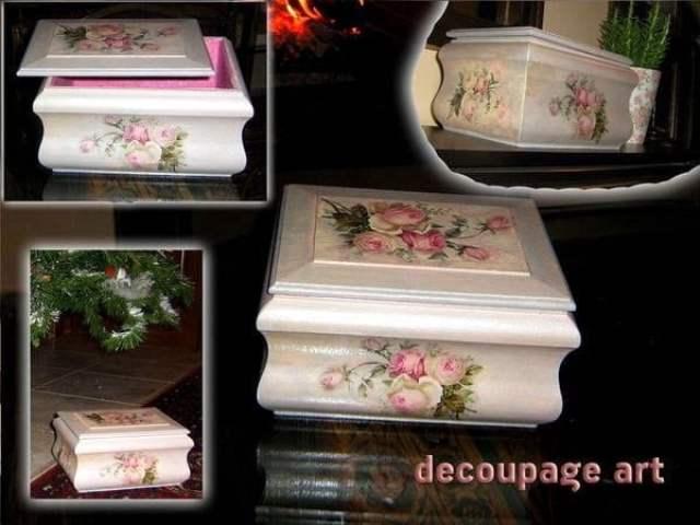 فن الديكوباج Decoupage : جمال و فخامة بخامات بسيطة و رخيصة  . 10