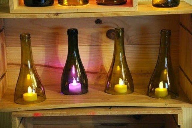 تعلم طريقة قص أو تقطيع الزجاجات ( الزجاج ) يدوياً بالخيط و اللهب ! 5