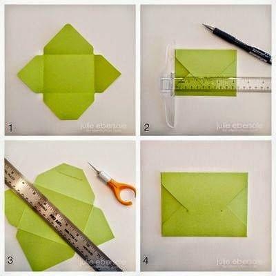 كيف تصنع ظرف من الورق بسيط وجميل - بالصور 11