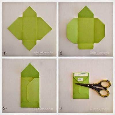 كيف تصنع ظرف من الورق بسيط وجميل - بالصور 3