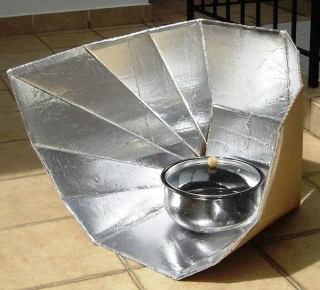 الطباخ الشمسي : أفران شمسية من أبسط الخامات !! 7