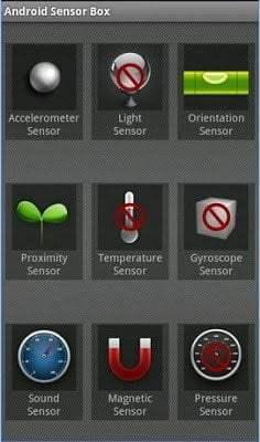 تعرف على المستشعرات Sensors الموجودة في هاتفك و تطبيقاتها 3
