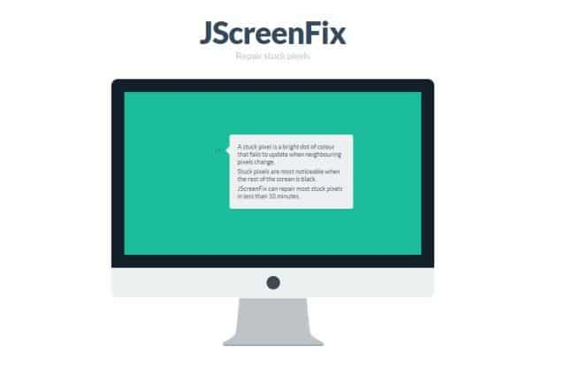 حل مشكلة النقاط المضيئة أو البقع الملونة التي تظهر على الشاشة 3