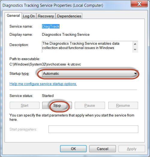 حافظ على خصوصيتك بإيقاف هذه الخدمة من ويندوز 3