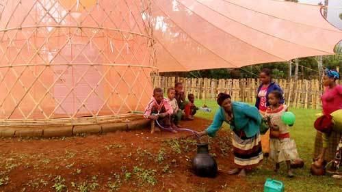 بدون كهرباء : أبراج خيرزان يمكنها استخلاص الماء من الهواء ! 6