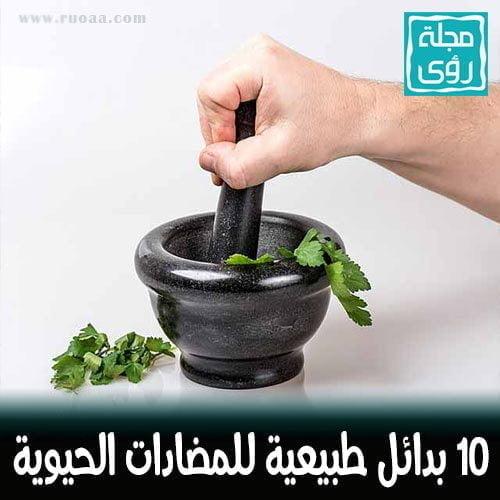 10 بدائل طبيعية للمضادات الحيوية
