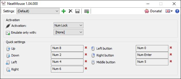 للطواريء : تعلم كيف تحول لوحة المفاتيح إلى ماوس 4