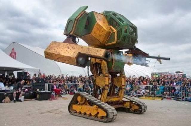 هل تبدأ الروبوتات العملاقة حرباً حقيقية بين أمريكا و اليابان  ؟ 5
