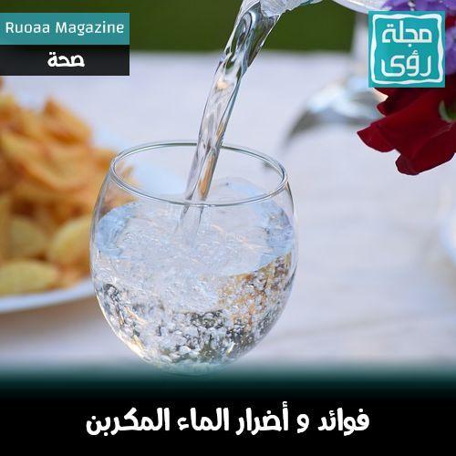الماء الفوار : تعرف على فوائد و أضرار الماء المكربن 1